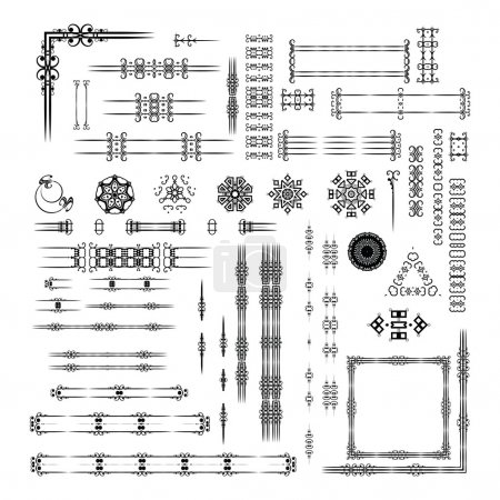 Designers toolkit set.