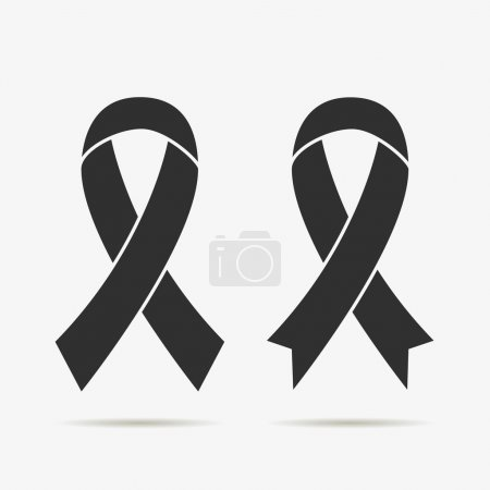 A symbol of mourning and support