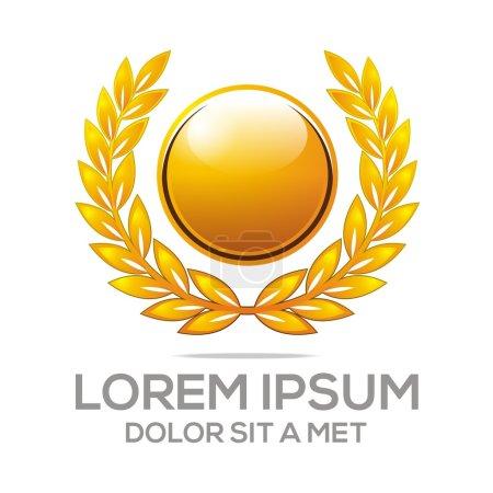 logo market winner vector awards icon symbol champion league