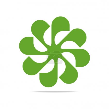 Abstract Logo Floral Design Symbol Icon Vector