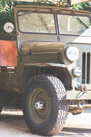 Old jeep preserved