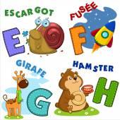 French alphabet part 2