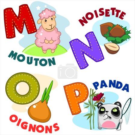 French alphabet part 4