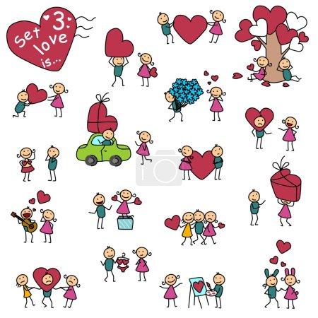 Set 3, love is ...