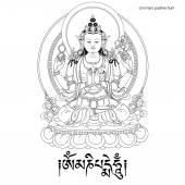 Bodhisattva Avalokiteshvara Buddha