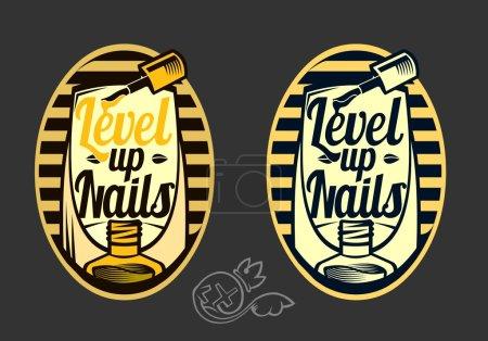 Logo for nail service....