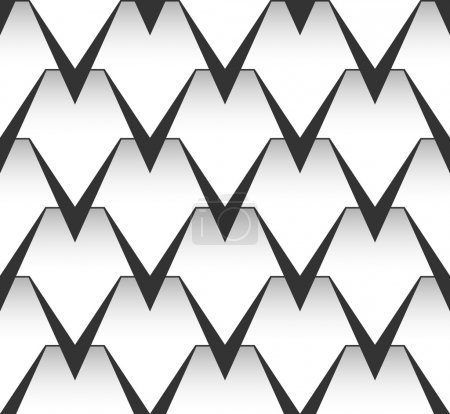 Seamless vector pattern. Graphic background.