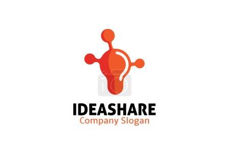 Illustration pour Idée part Design Illustration - image libre de droit