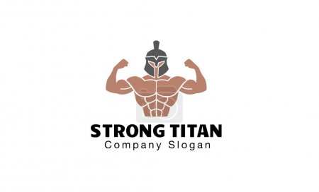 Strong Titan Design Illustration