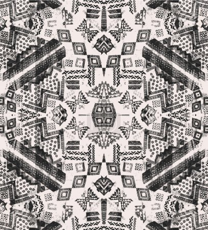 background with geometric elements.