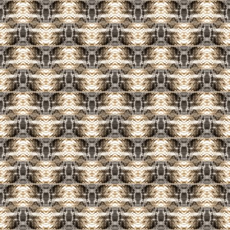 Pattern with snake skin elements