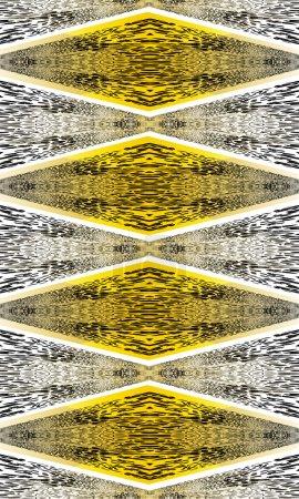 Seamless pattern with animal skin motifs