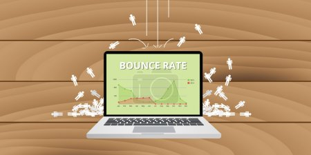 bounce rate from website traffic