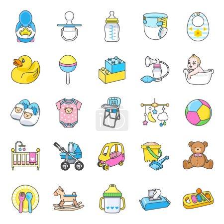 Baby Stuff icons