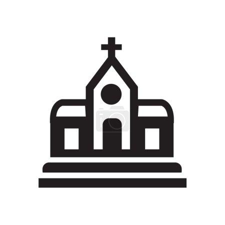 church icon icon design eps 10