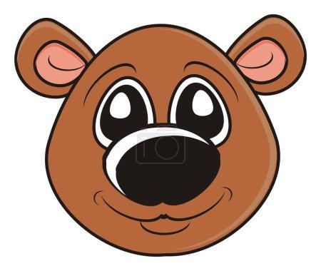 cute bear muzzle