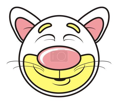 animal, toy, pet, farm, childhood, child, isolated, cartoon, cat, kitten