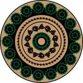 Ornament malva 06