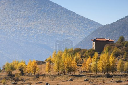 The western region of Kangding City, Sichuan Tibetan Autonomous Prefecture, Ganzi province China the Xinduqiao, located at 318 State Road, the Sichuan Tibet line