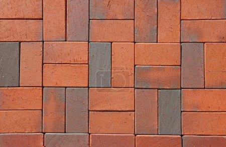 Red German Ceramic Clinker Pavers. Floor pavers in...