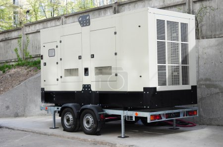Industrial Backup Generator for Office Building