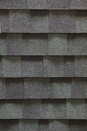 Photo pour Texture bardeaux de toit d'asphalte - image libre de droit