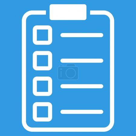 Examination icon from Business Bicolor Set. Vector...
