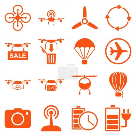 Copter tools icon set