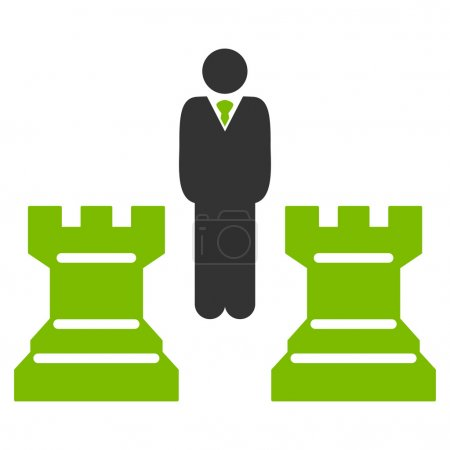 Strategy icon from Business Bicolor Set