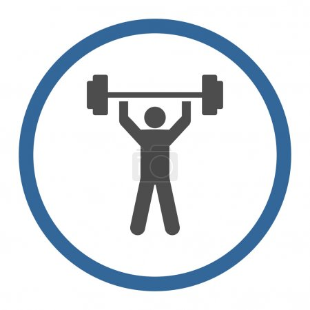 Power lifting icon