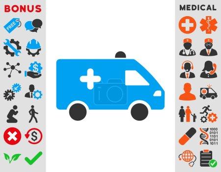 Hospital Car Icon