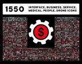 Interface Business Tools People Medical Awards Vector Icons