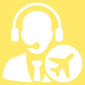 Dispatcher Flat Icon