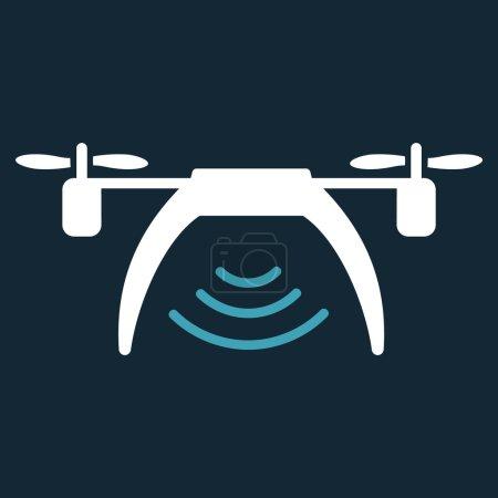 Drone Wifi Repeater Icon