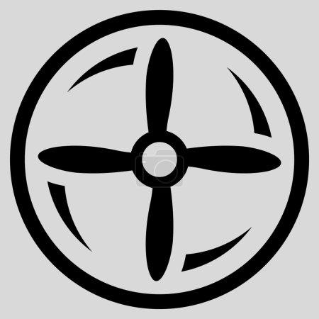 Rotating Screw Icon
