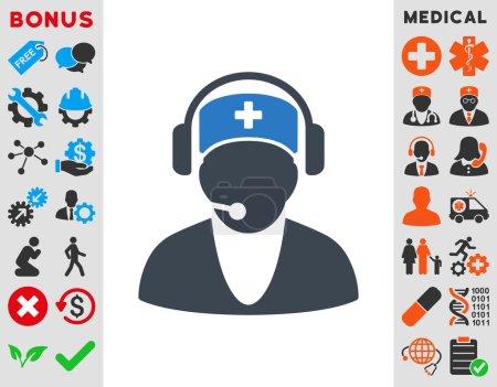 Hospital Receptionist Icon