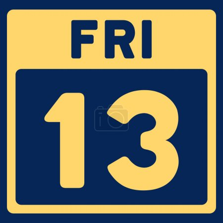 13 Friday Icon
