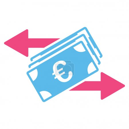 Euro Money Transfer Icon