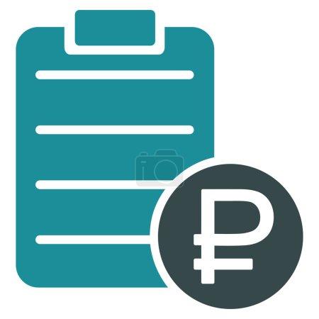 Rouble Price List Icon