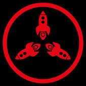 Rockets Rounded Icon