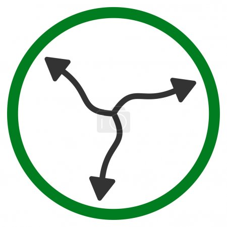 Curve Arrows Rounded Icon
