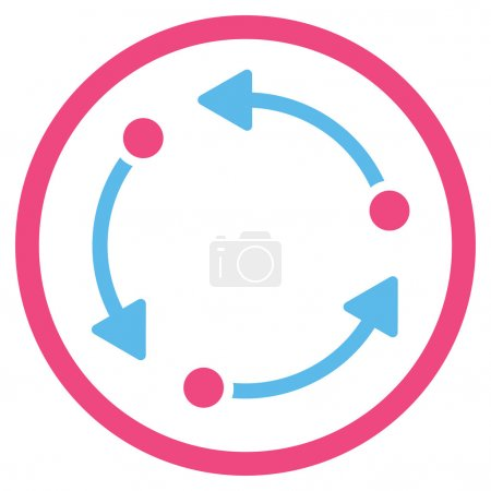 Rotate Rounded Icon