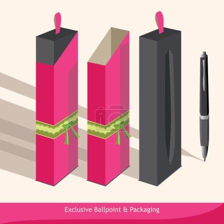 Illustration pour Les côtés uniques de l'emballage. Utilisez-le pour tout projet de conception - image libre de droit