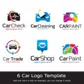 Car Logo Template Design Vector