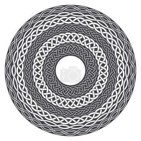 Mandala in esoteric style