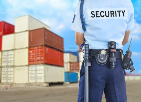 Photo for Security guard - Royalty Free Image