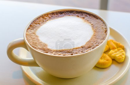 Photo for Cup of cappuccino - Royalty Free Image