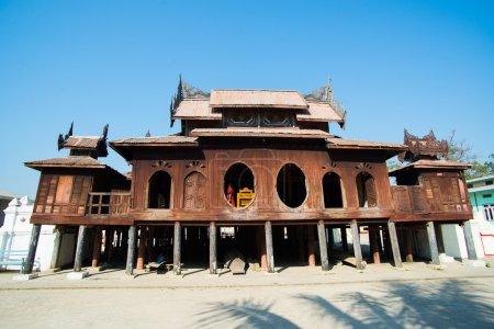 Old Teak Wood Monastery