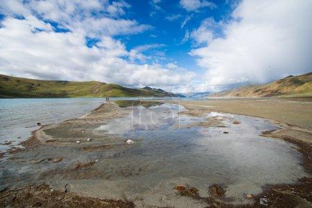 Beautiful landscape in Tibet