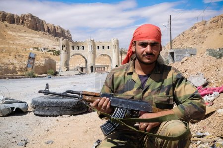Soldier of the Syrian National Army